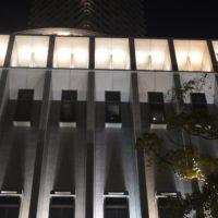 リッツカールトン大阪 ライトアップ