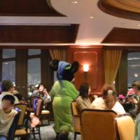 上海ディズニーランドホテルラウンジ