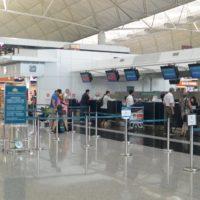 香港国際空港ベトナム航空カウンター