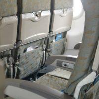 ベトナム航空A321機内