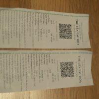 ベトナム統一鉄道チケット
