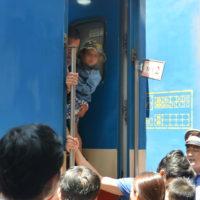 ベトナム統一鉄道乗車