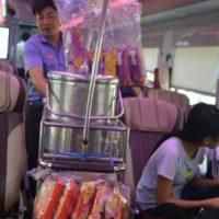 ベトナム統一鉄道 車内