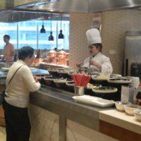 上海マリオットシティーセンター朝食