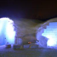 キロロ氷のホテル