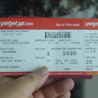 ベトジェット航空券
